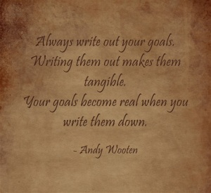 Always-write-out-your