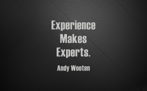 Experience-Makes-Experts