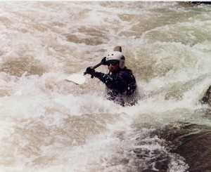 Me in the Royal Gorge on the Arkansas River - 1998