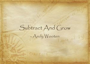 subtract and grow