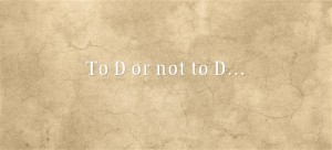 To-D-or-not-to-D